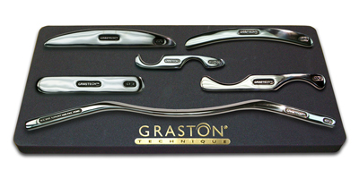 Graston Technique tools at Rose City Wellness